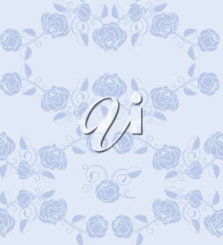 Roses pattern seamless, design element