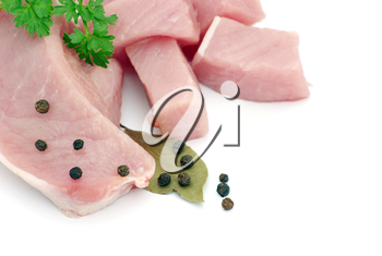 Royalty Free Photo of Meat and Parsley