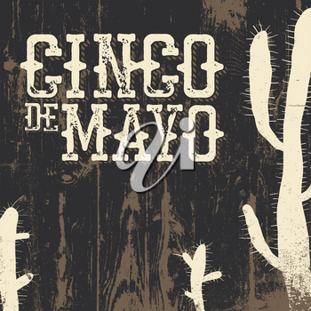 Cinco de Mayo vector illustration. 5 of May holiday vector. Cinco de Mayo holiday background.