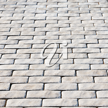 Abstract background of cobble stones making from stone blocks. Old texture background.