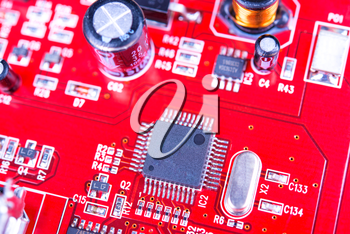 Royalty Free Photo of a Circuit Board
