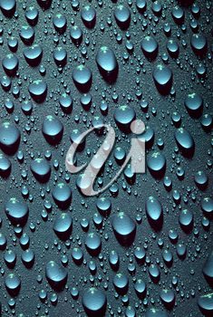 Royalty Free Clipart of Water Drops