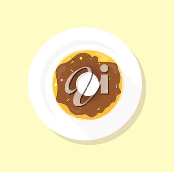 Donut logo. Sweet donuts design flat food. Doughnut, donuts coffee, donut isolated, coffee and cookies, cake bakery dessert menu, snack pastry, tasty. Donuts shop. Donut icon. Donuts glaze