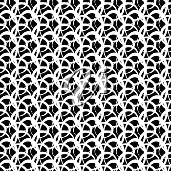 Abstract background in vintage style, seamless pattern