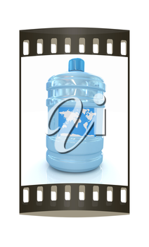 ocean bottle. The film strip