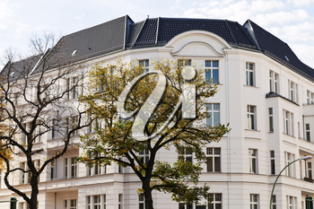 Urban apartment building of the 19th century in western Berlin