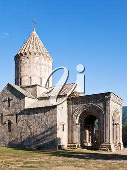 st. paul and peter cathedral in Tatev Monastery in Armenia