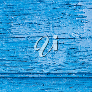blue painted wooden texture - two old board