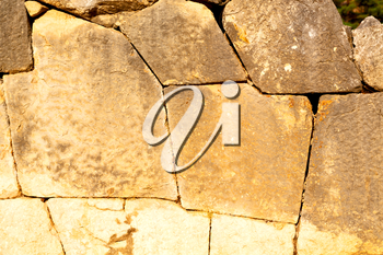 step    brick in       greece   old wall and texture material the   background