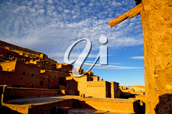 season africa  in morocco the old    contruction and the historical village
