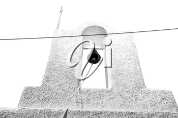 in europe    greece a cross bell    the cloudy sky