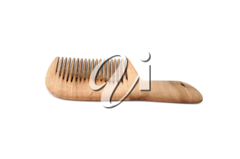 Isolated comb with loss hair