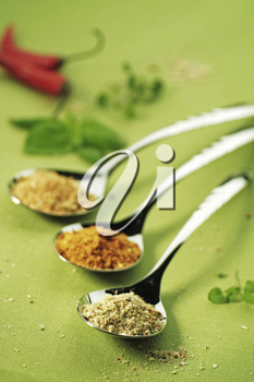 Three Spoonfuls of seasonings