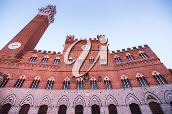 Palazzo Publico and Torre del Mangia, Siena, Italy