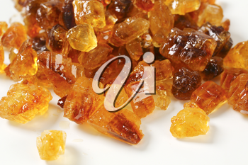 Brown rock candy with fine caramel flavor