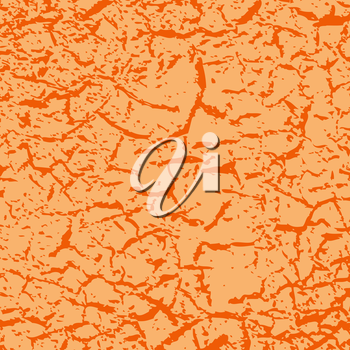 Simple vector background of old cracked paint.
