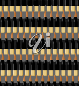 Bullet background. Patrons of seamless pattern. Bandolier texture. Military army ornament.