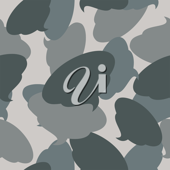 Military camouflage from shit. Turd army texture for clothing. Protective seamless pattern.