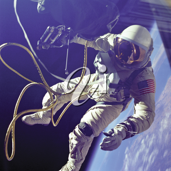 Royalty Free Photo of an Astronaut in Space