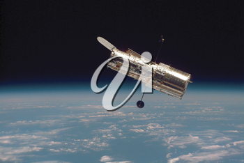 Royalty Free Photo of The Iconic Hubble Telescope
