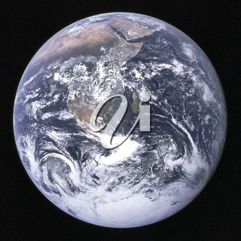 Royalty Free Photo of Earth from Space