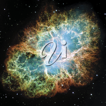 Royalty Free Photo of the Crab Nebula