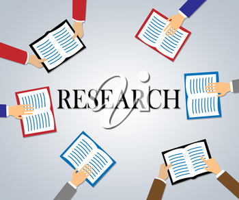 Research Books Meaning Study Examine And Explore