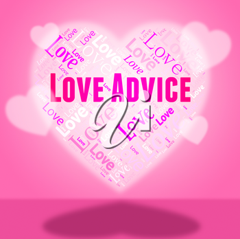 Love Advice Showing Tips Guidance And Lovers