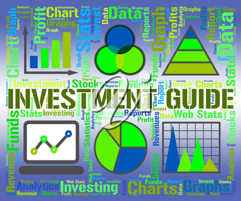 Investment Guide Showing Business Graph And Graphs