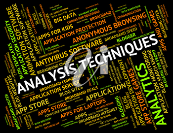 Analysis Techniques Indicating Data Analytics And Approaches