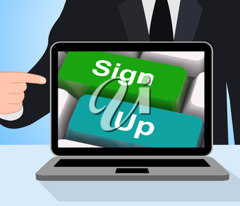 Sign Up Computer Meaning Registration And Membership