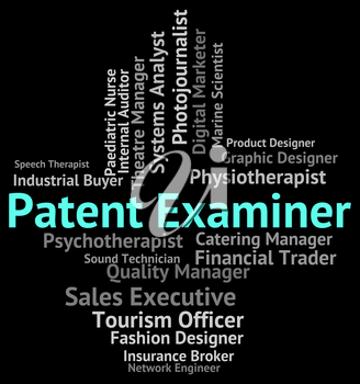 Patent Examiner Showing Performing Right And Hire