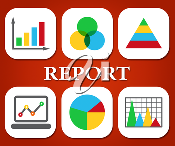 Report Graphs Meaning Finance Diagram And File