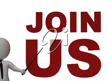 Join Us Sign Showing Register Or Subscribe As Member