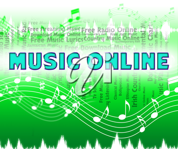 Music Online Meaning World Wide Web And Sound Tracks