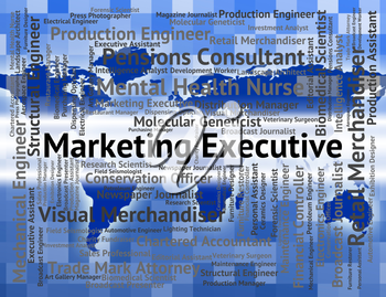 Marketing Executive Representing Director General And Md
