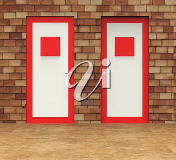 Doors Choice Showing Choose Alternative And Path