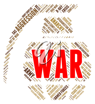War Word Meaning Wars Fight And Clashes
