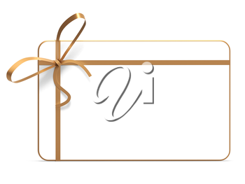 Gift Tag Showing Blank Space And Decoration