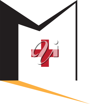 Door and Plus Icon. AI 10 SUpported.