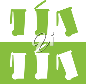 Bin Icon Design, Eps 8 supported.