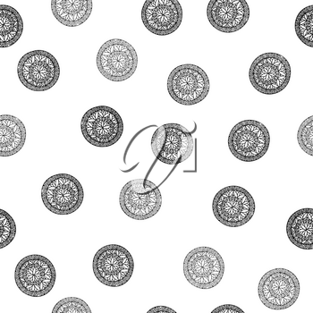 Abstract geometric pattern. Floral oriental ethnic background. Arabic ornament. Ornamental motives of the paintings of ancient Indian fabric patterns.
