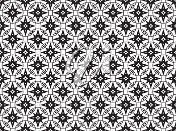 Abstract geometric seamless pattern. White asian ornament. Traditional ethnic floral chinese tile ornamental backdrop. Good for wallpaper design, pattern fills, web page background, surface textures