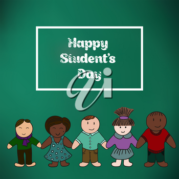 International Students' Day. Picture for your design. Card, cover, banner