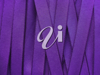 Shiny Purple satin ribbon background