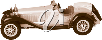 Royalty Free Photo of a Vintage Car
