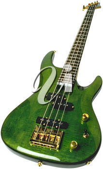 Royalty Free Photo of an Electric Bass Guitar