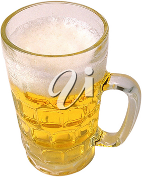 Royalty Free Photo of a Glass of Beer