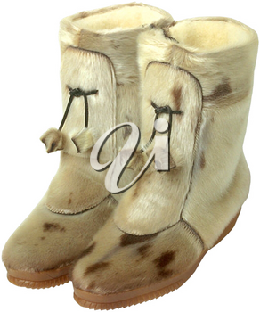 Royalty Free Photo of a Mukluk Boots
