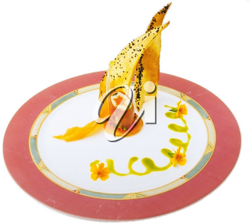 Royalty Free Photo of a Plate of Appetizers